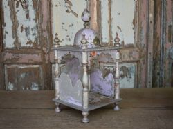 Antique temple shrine with dome and original paint <b>SOLD<b>